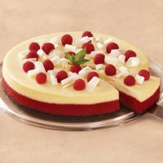 How to make a festive Red Velvet Cheesecake.