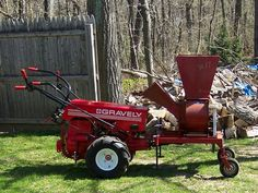 Gravely Car Pusher Attaches Directly to Two-wheeled Tractor Sales Brochure
