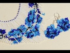 How to make Earrings, Beading Patterns - YouTube