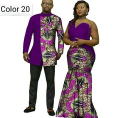 African couple Cotton clothing African ethnic wax printing Skirt and Men's Shirt – Men's Clothing Source African Fashion Ankara, African Fashion Designers, Latest African Fashion Dresses, African Print Fashion, African Wear, Male African Attire, Ethnic Fashion, Traditional African Clothing, African Clothing For Men