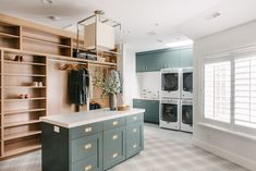 Modern meets traditional - Master closet + laundry room tour