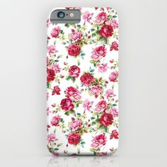 #floral #spring #summer #cases #phoe #tech #shopping #gift #flower #pattern #society6 #art #print #promotion #freeshipping