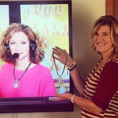Pam Ward wearing Easy Living necklace on ESPN. #premierdesigns