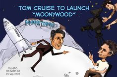 The Mission Impossible star, Tom Cruise, will fly into space to shoot his record-breaking new film project. With the help of Elon Musk, Cruise will make the trip with Doug Liman in the Axion Space Crew Dragon Capsule — owned by the SpaceX company — in October 2021. Hollywood and Bollywood have a new competitor: Let's welcome 'Moonywood.'