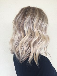 Blonde hair! Done by Christina Gunnell