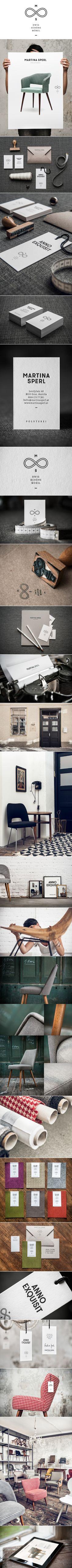 Corporate graphic design furniture chair fabric letterpress business card Handmade Furniture - http://amzn.to/2iwpdj4