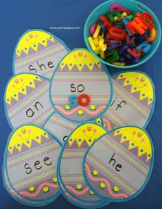 Easter Sight Words Activity