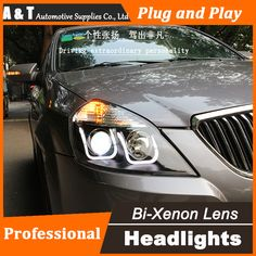 Trend Auto Lighting Style LED Head Lamp for Buick Excelle led headlights drl H