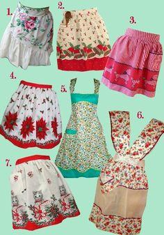 @Amy Hinkle.....vintage aprons