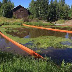 Se on tämä paikallisympäristö ja luonto täällä Hämeessä jotenkin luontaisesti vastenmielistä kun siitä niin yritetään pitää huolta. Kylän luontoihme Loimijoki oli tänään vallattu öljypuomein. Oli (taas) päässy vähän raskasta polttoöljyä lauhdevesien kanssa veteen. Nooh... työllistyypähän pelastuslaitos. #häme #jokioinen #forssa #loimijoki #ympäristökatastrofi (mut toisaalta lohet on öljykaloja) #fb