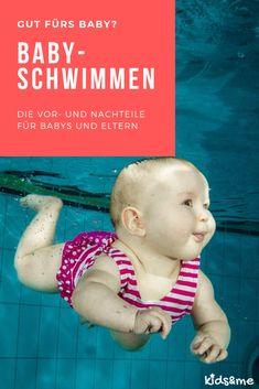 Beim Babyschwimmen können Babys zusammen mit der Mama oder dem Papa das Wasser erleben. Es geht nicht darum Übungen zu absolvieren, sondern mehr um den Spass und die Leichtigkeit im Wasser.  Stattdessen geht es eher darum die Muskelkraft zu fördern und das Körpergefühl im Wassser zu stärken.  Bevor Du nun einen Schwimmkurs für Babys buchst oder mit ihm alleine ins Schwimmbad gehst, lies dir gern unseren Blogartikel zum Babyschwimmen durch. Danach sind bestimmt viele deiner Fragen beantwortet! Baby Led Weaning, Parenting, Kids, Sport, Crafting, Baby Swimming, Humor Birthday, Young Children, Boys