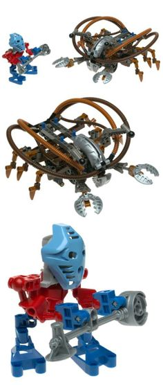LEGO Bionicle Set #8595 Takua Pewku, bThe master of shadows!/bMakuta is the powerful enemy of the Toa Nuva, who schemes to keep Mata Nui asleep forever. Using his power of darkness, he turns friends into enemies and tries to rob the Mato..., #Toys, #Building Sets