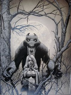 by Richard Corben