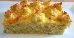 RECETAS DE MI MADRE Y MIAS: Pastel de patata y bacalao