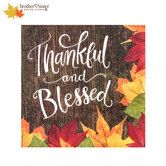 Thankful & Blessed Napkins - Small