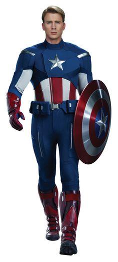 Chris Evans as Captain America who doesn't love a superhero #sohot