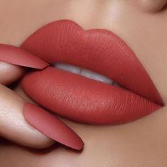 First Choice 317 Velvet Matte Lipstick Mac Lipstick Shades, Cute Lipstick, Lipstick Colors, Fall Lipstick, Lipstick Swatches, Liquid Lipstick, Fun Lacquer, Lipstick Tattoos, Lipstick Designs