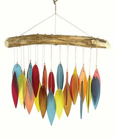 Look what I found on #zulily! Santa Fe Leaves Driftwood Wind Chime #zulilyfinds