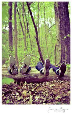 Cute Couple Photo Idea: Matching Chucks
