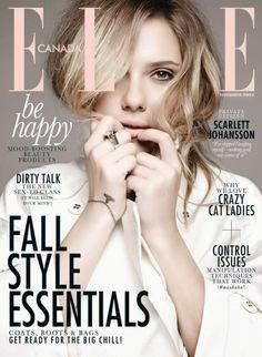 Scarlett Johansson – ELLE Magazine (November 2013)