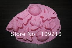 Aliexpress.com : Buy Green Good Quality 100% Food Grade Silicone Cake/Jelly/Pudding/Chocolate Mold/Muffin Cupcake Pan 3 style Insect DIY Mold from Reliable Silicone Cake Mold suppliers on Silicone DIY Mold and  Home Supplies Store $8.08