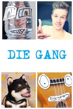 Die gang ❤️ Just For Fun, Memes, Youtubers, Lol, Celebrities, Babys, Germany, Hair Beauty, Stars