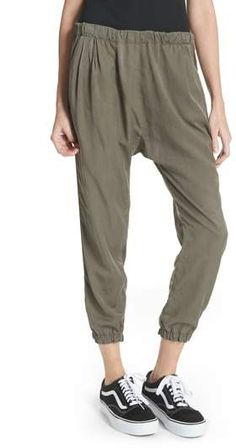 Clu Silk Blend Track Pants Street Look, Street Wear, Street Style, Joggers, Sweatpants, Clu, Athletic Pants, Harem Pants, Track