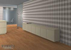 Tapetenshop.com | Funky Flair 7-721645 Vlies-Tapete Stoff-Optik glatt beige Musterabschnitt | Tapeten, Borten und Gardinen günstig kaufen - ...