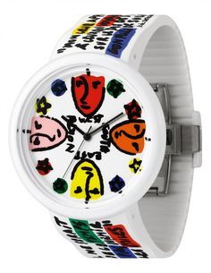 https://www.cityblis.com/3127/item/15365  JC04-10 - $125 by odm  Famous French fashion designer Jean Charles de Castelbajac (JCDC) loves art and enjoys playing art design,sparkles the idea of drawing on the wrist!Using the timepiece dial as the canvas and the case mirror as frame, an art piece is ready on the wrist! JCDC x odm proudly presents the latest art ...