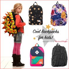 Get ready for Back to School. Cool Backpacks for Kids!