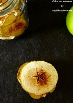 Chips de manzana y canela, chips de manzana, laminas de manzana, receta de manzana y canela, recetas sanas, picoteo saludable, blog de repos...