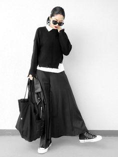 black women fashion styles in 2020 Skirt Fashion, Hijab Fashion, Fashion Outfits, Fashion Trends, Fashion Styles, Fashion Fashion, Casual Skirt Outfits, Mode Outfits, Japanese Fashion