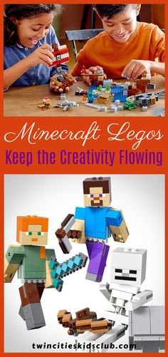 Twin Cities Kids Club Blogs: Minecraft Legos: Keep the Creativity Flowing - There's nothing wrong with her wanting to lose herself in a challenging task. It's pretty impressive that she wants to lose herself in a challenging task. It's remarkable that she wants to build something, create something, get involved in an arduous building project. | kids | Games | Fun Games | Game Day | Indoor Games Indoor Games, Indoor Activities, Infant Activities, Educational Activities, Activities For 2 Year Olds, Fun Games For Kids, Children Toys, Learning Through Play, Twin Cities