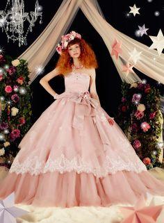 カラ-ドレス ベージュピンク | 愛ロイヤルウェディング