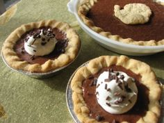 Grandma Chunkie's #Chocolate Pie Recipe. It's so easy!