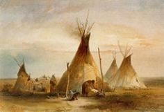 A tipi (also teepee, or tepee) is a tent-like lodging made of animal skins or birch bark and used by American Indians of the Great Plains.  Native Americans from other places lived in different types of...