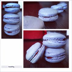 #macarons framboise (à l'agar-agar) #cooking #pastries #color #fruit