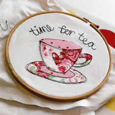 drawings, craft, cups, tea towels, teddy bears, cushions, machin embroideri, freehand machine embroidery, freehand embroideri