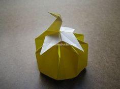 Origami Crane Box Step 64