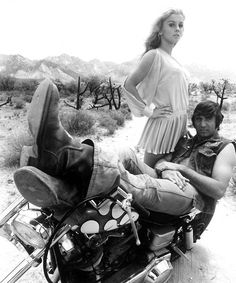 Joe Namath and Ann Margret… from the movie C.C. & Company.  ~redjeep