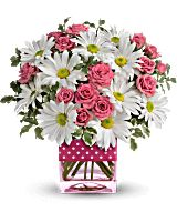 Teleflora's Polka Dots and Posies Bouquet - Teleflora