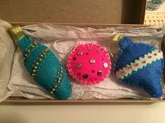 Christmas Ornaments, Holiday Decor, Handmade, Crafts, Home Decor, Hand Made, Room Decor, Christmas Jewelry, Christmas Ornament