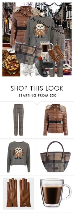 """Winter outfit"" by helena-bekker ❤ liked on Polyvore featuring Sweet Note, 3.1 Phillip Lim, Topshop, Barbour, Paul Smith and Frontgate"