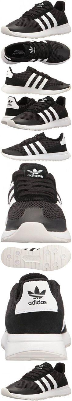 timeless design fd7d6 fc463 Adidas Originals Women s Flashback W Fashion Sneaker, Black White Black, 9 M