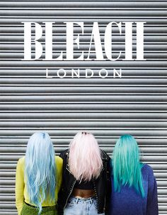 bleachlondon:  New Bleach shoot coming V SOON! Shot by Matt Irwin Hair by Alex Brownsell