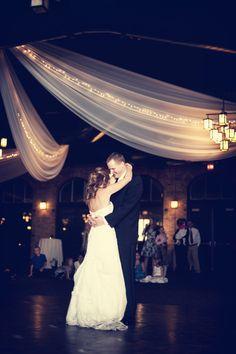 A stunning photo of the first dance. #weddingphotographerminnesota #nicolletislandpavilion #weddingphotography