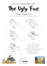 The ugly five finger puppets activity 1657626