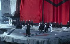 Episode VII: Revenge of the First Order At Starkiller Base, a snarling and embittered General Hux prepares the ultimate propaganda speech to his First Order soldiers, whilst unleashing their biggest and most devastating blow yet to the New Republic whom they so hate, in this memorable scene from The Force Awakens. #starwars #theforceawakens #starkillerbase