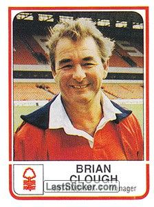 British Football, Uk Football, Brian Clough, Nottingham Forest, Sticker, Baseball Cards, Collection, Stickers, Decal