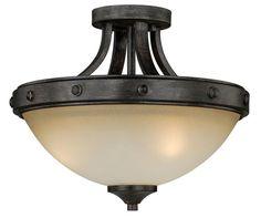 Halifax Semi Flush Ceiling Light